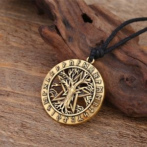 Jewelry - Wiccan Yggdrasil Tree of Life Necklace